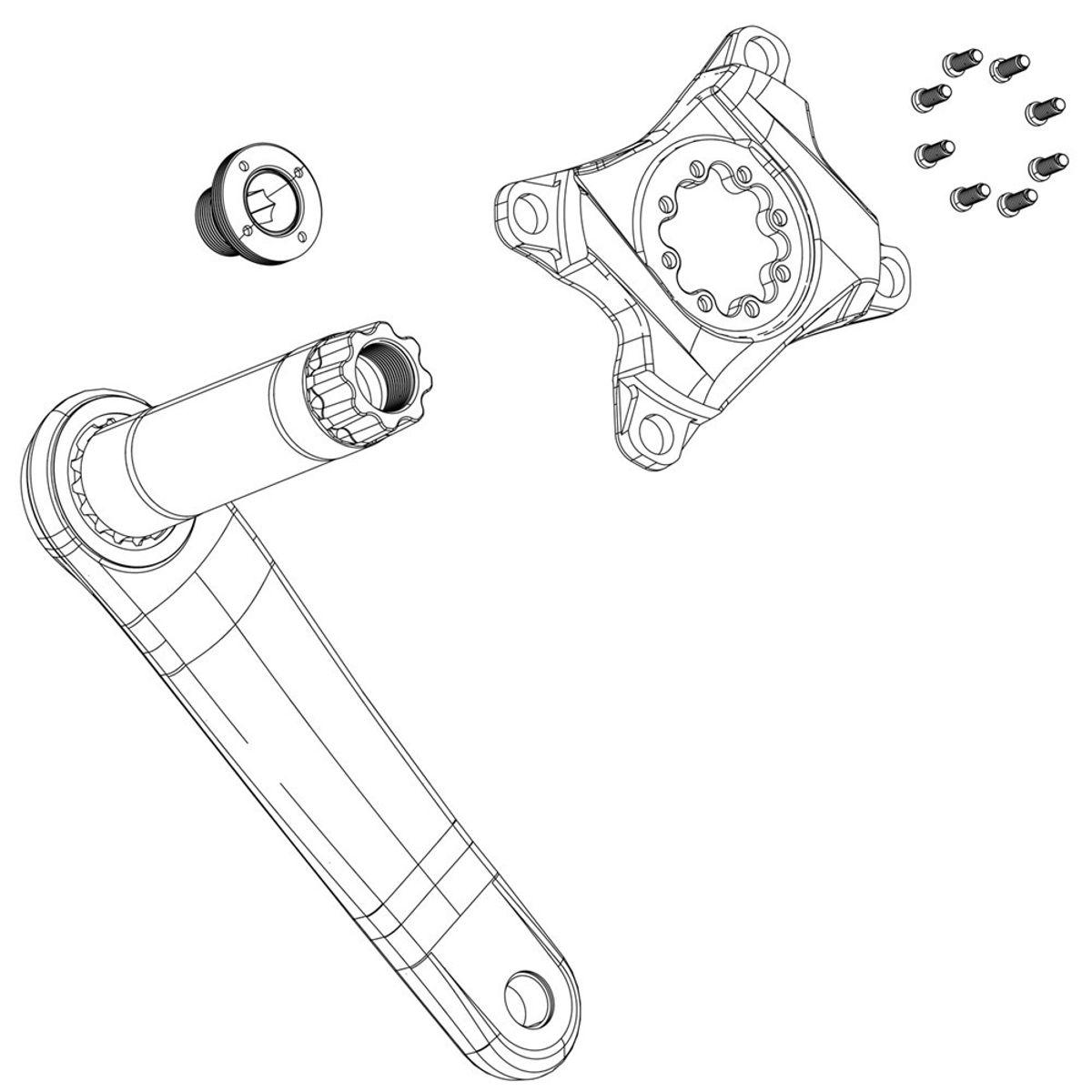 TRAPD SRAM BOUT M18/M30 DUB ALM LN
