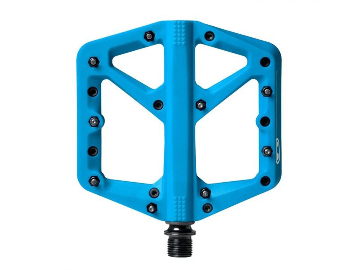 Crankbrothers pedaal stamp 1 large blauw