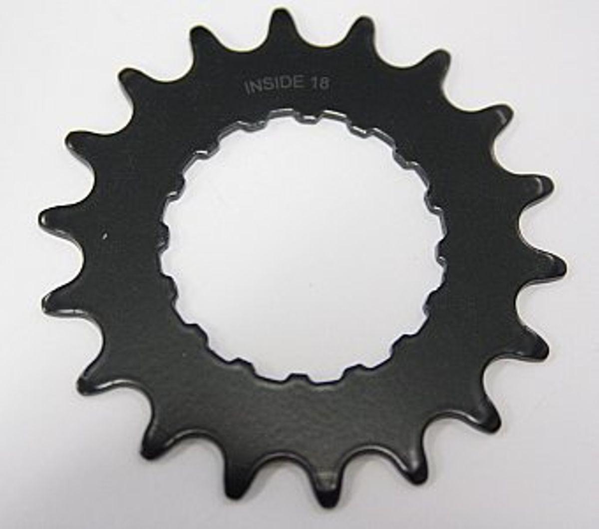 Kettingblad 18 tands 3/32 001 Black