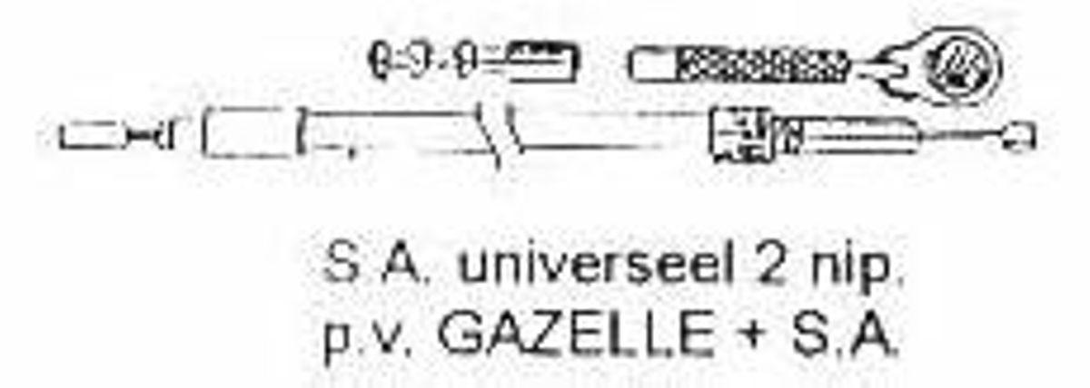 KABEL XLC VERS KPL SA 2 NIPPEL ZW 6478