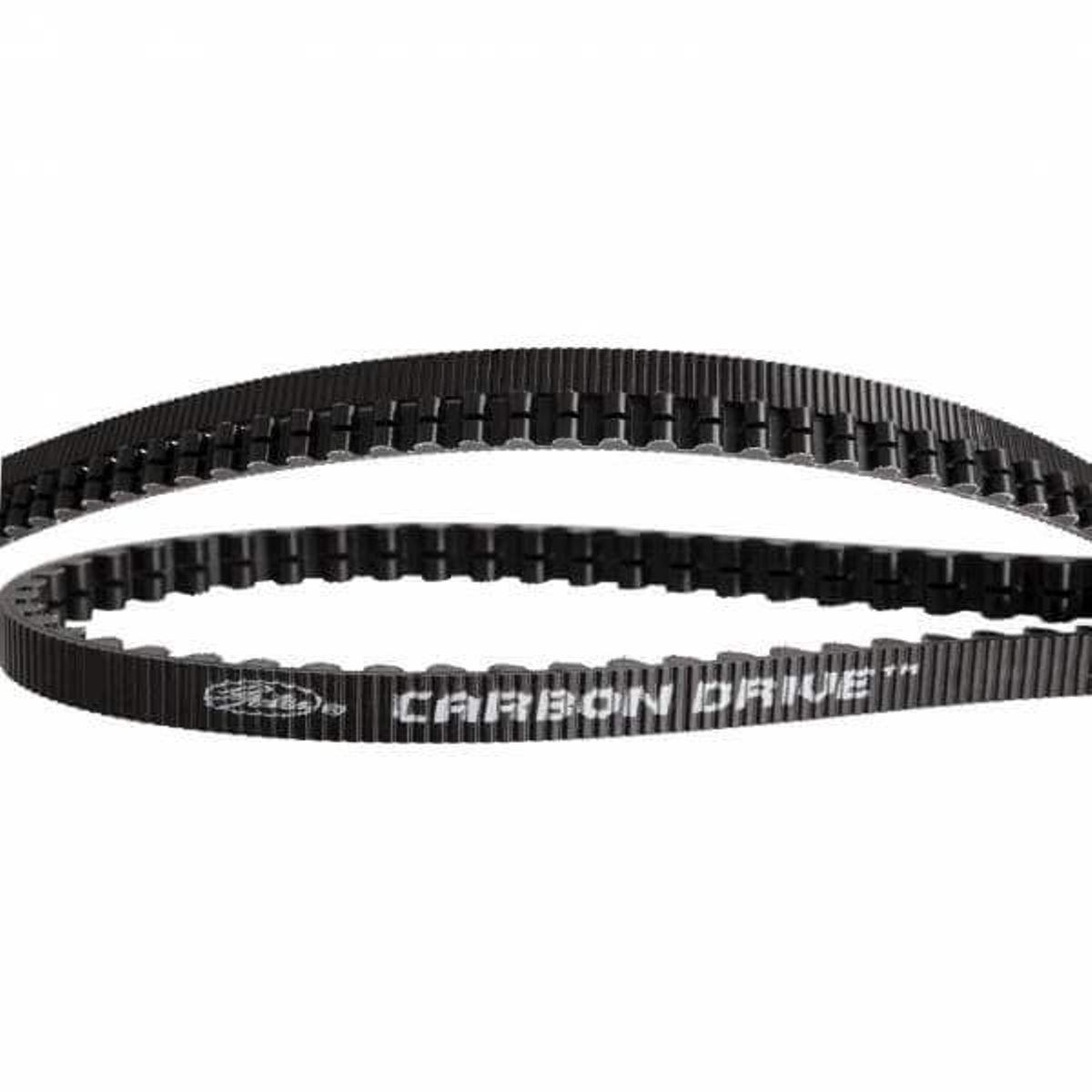 Gates CDX belt Carbon Drive 108 tands zwart