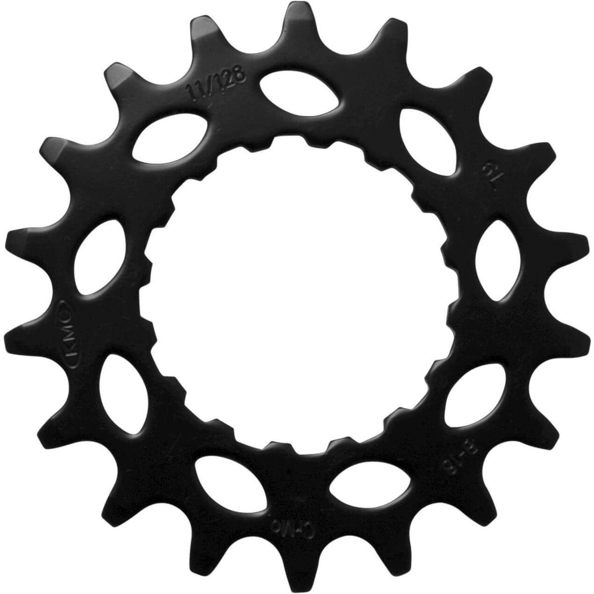 Kmc tandwiel voor bosch 21t cro-mo staal zwart 11/