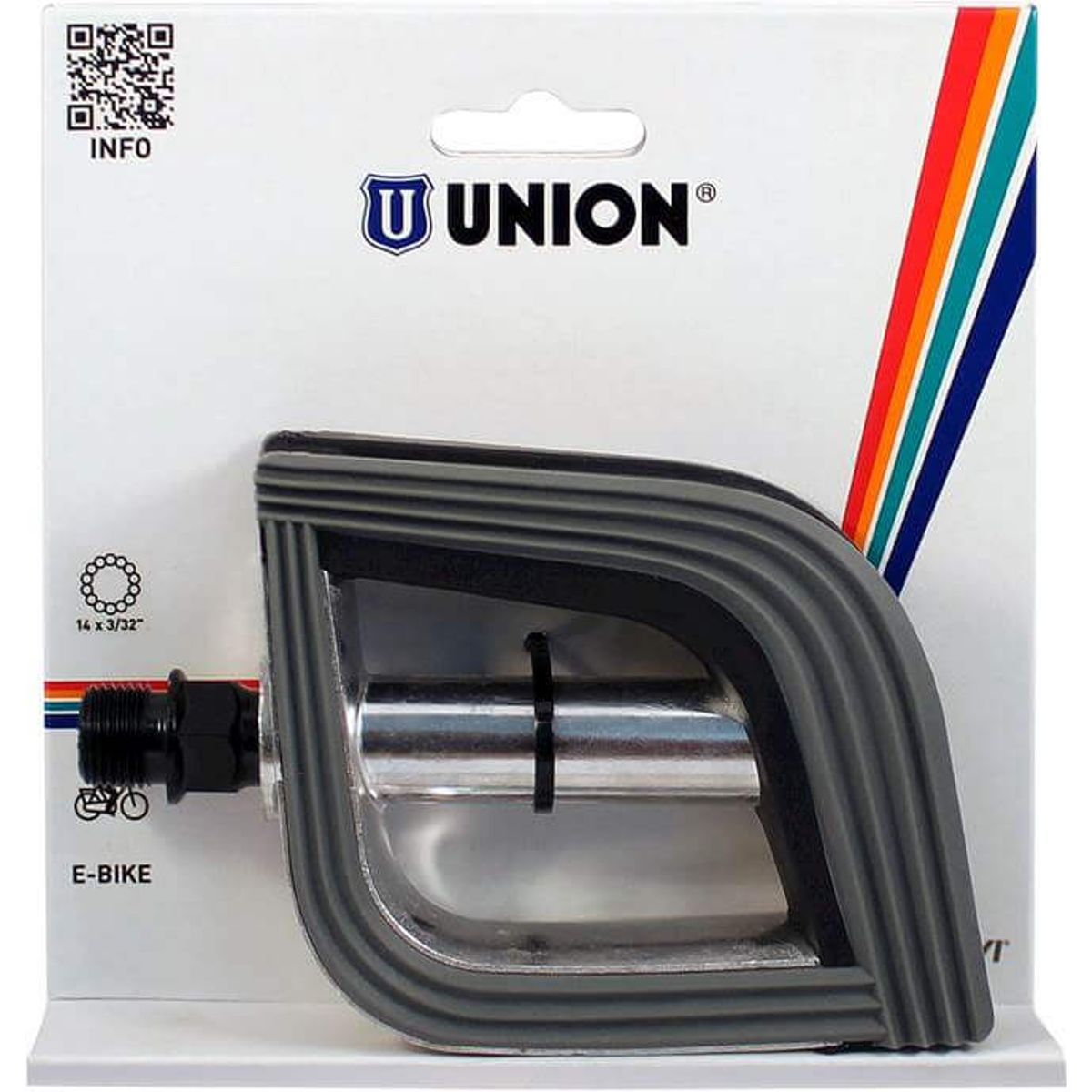 Union pedalen 825 anti-slip aluminium
