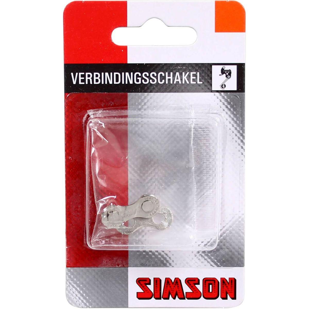 Simson kettingschakel 9 speed maat 5/64