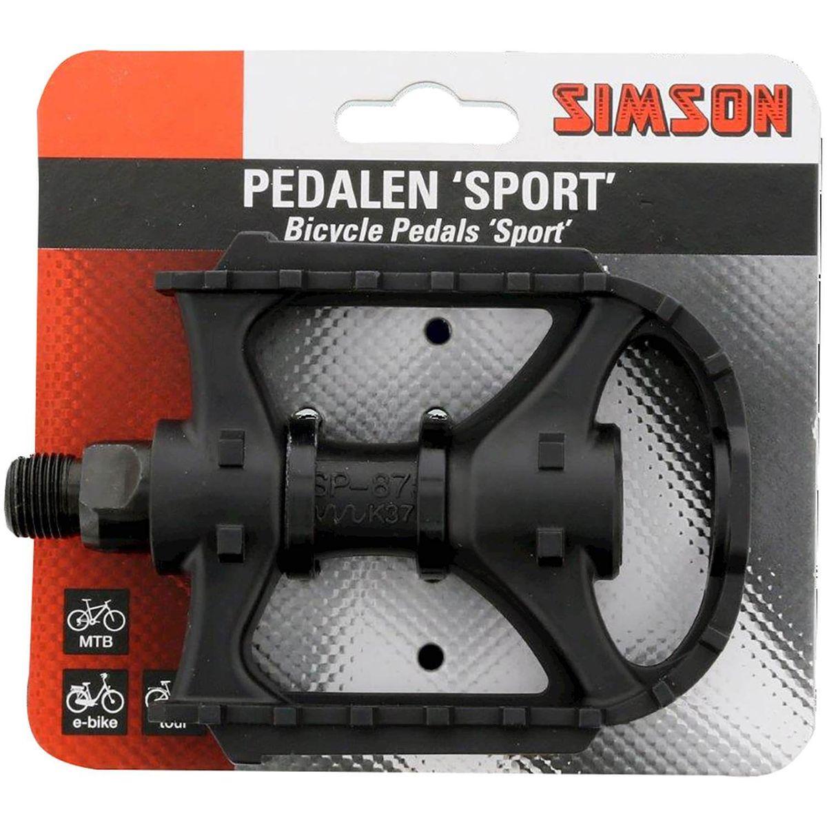 Simson pedaalset sport reflectoren (2)