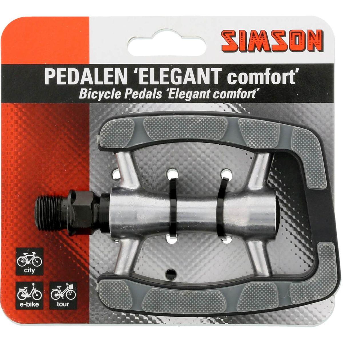 Simson pedaalset elegant comfort reflectoren (2)