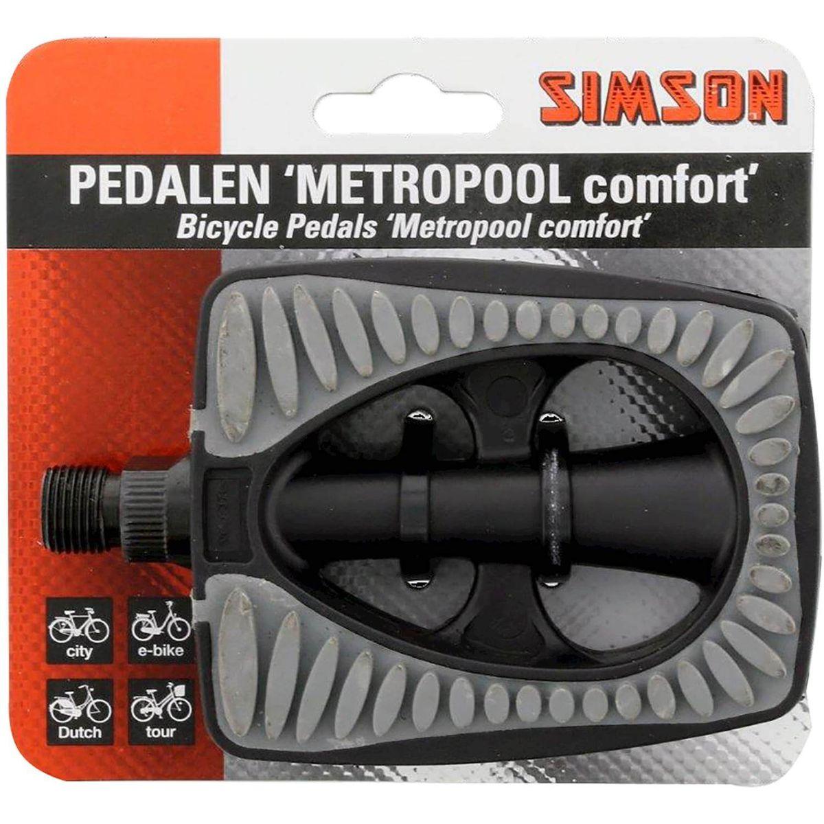 Simson pedaalset metropool comfort reflectoren (2)