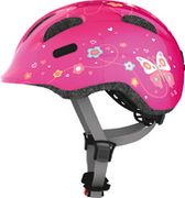 HELM ABUS SMILEY 2.0 PINK BUTTERFLY M 50-55