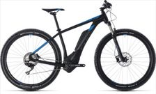 CUBE REACTION HYBRID RACE 500 BLACK/BLUE 2018 21