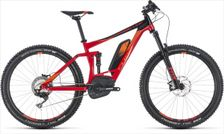 CUBE STEREO HYBRID 140 RACE 500 RED/ORA 2018 22