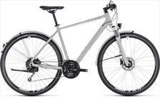 CUBE NATURE PRO ALLROAD GREY/WHITE 2018 46 CM