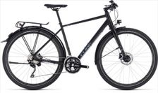 CUBE TRAVEL EXC BLACK/GREY 2018 62 CM