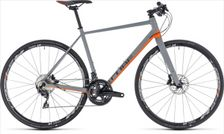 CUBE SL ROAD SL GREY/ORANGE 2018 50 CM