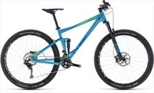 CUBE STEREO 120 RACE BLUE/GREEN 2018 16