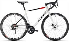 CUBE ATTAIN PRO DISC WHITE/RED 2018 56 CM