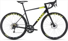 CUBE ATTAIN RACE DISC BLACK/FLASHYELLOW 2018 58 CM