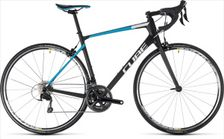 CUBE ATTAIN GTC PRO CARBON/BLUE 2018 58 CM
