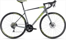 CUBE ATTAIN GTC RACE DISC GREY/GREEN 2018 58 CM