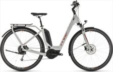 CUBE TOURING HYBRID 400 GREY/ORANGE 2019 EE46