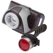 B5R oplaadbaar voorlamp + achterlamp