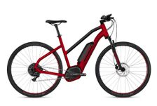 HYB Square Cross B4.9 AL W RED / BLK S