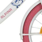 Alpinachterspatbord set 18 Clubb wit