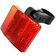 Alpinachter reflector R10 achter rood