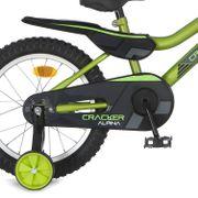 Alpina achterwielscherm 16 Cracker green