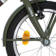 Alpina voorspatbord 16 CG army green mt