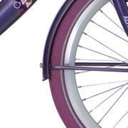 Alpinachterspatbord set 26 Clubb purple grey