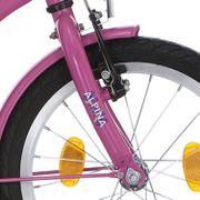 Alpina voorvork 16 GP candy pink