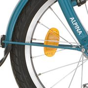 Alpinachterspatbord stang set 18 Yab turquoise