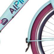 Alpinachterspatbord set 22 GP pale blue