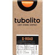 Tubolito binnenband S-Road 700c 18 - 28mm fv 60mm