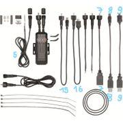 B+M kabel rond naar USB-A nr 7 E-werk