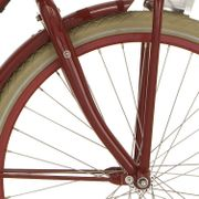 Cortina voorvork 26 Mini transp rood