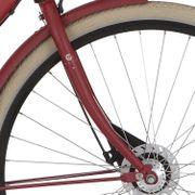 Cortina voorvork 28 U1 D rood