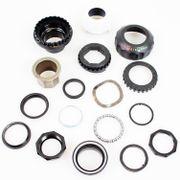 Cortina balhoofd lockset 1 1/8 black/white
