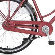 Cortina achterwielkast Twist red metallic