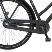 Cortina achterwielkast Bold black matt