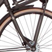 Cortina voorvork U4 H black gold matt