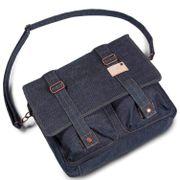 Cort Kansas Messenger Bag Denim