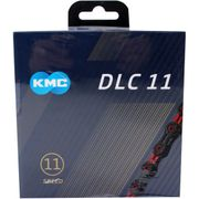 KMC achterwielDLC11 black/red
