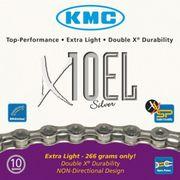 KMC achterwielX10EL zilver
