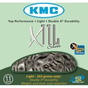 KMC achterwielX11 SL zilver