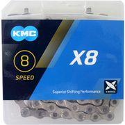 KMC kettingX8 silver