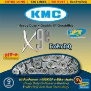 KMC achterwielX9 e-bike