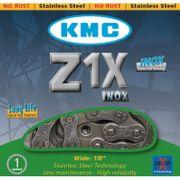 KMC achterwielZ1 1/8 inox