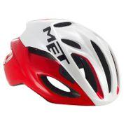 MET helm Rivale L 59-62 rood/wit