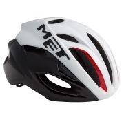 MET helm Rivale M 54-58 wit/zwart/rood